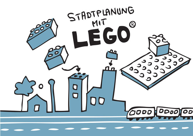 Illustration: Stadtplanung mit LEGO®