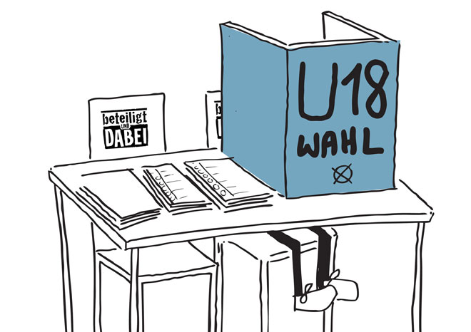 Illustration: U18 Wahl